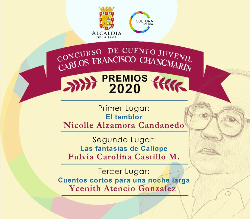 "Fallo del V Concurso Municipal de Cuento Juvenil ""Carlos Francisco Changmarín"" 2020"