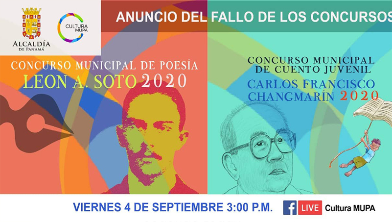 Fallo de los concurso de Cuento Juvenil Carlos Francisco Changmarín y de Poesía León A. Soto.