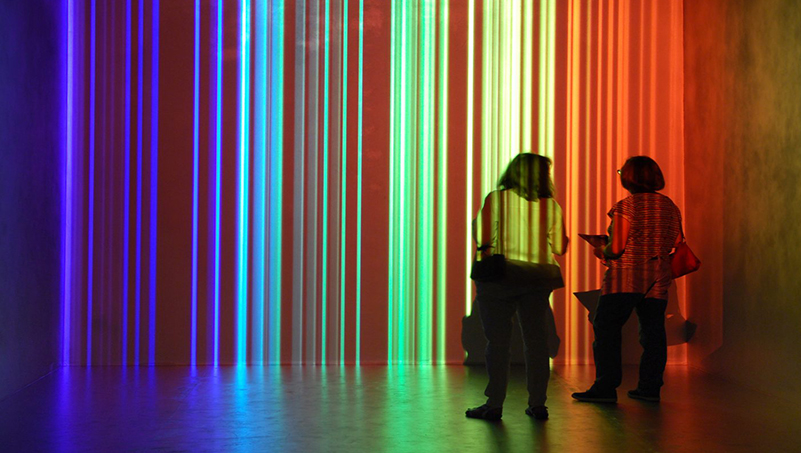 Exposición Cruz-Diez en el MAC Panamá